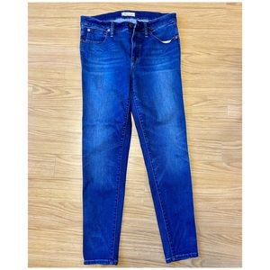 """Madewell 9"""" high rise skinny jeans size 31x28"""